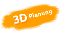 Button 3D Raumplanung